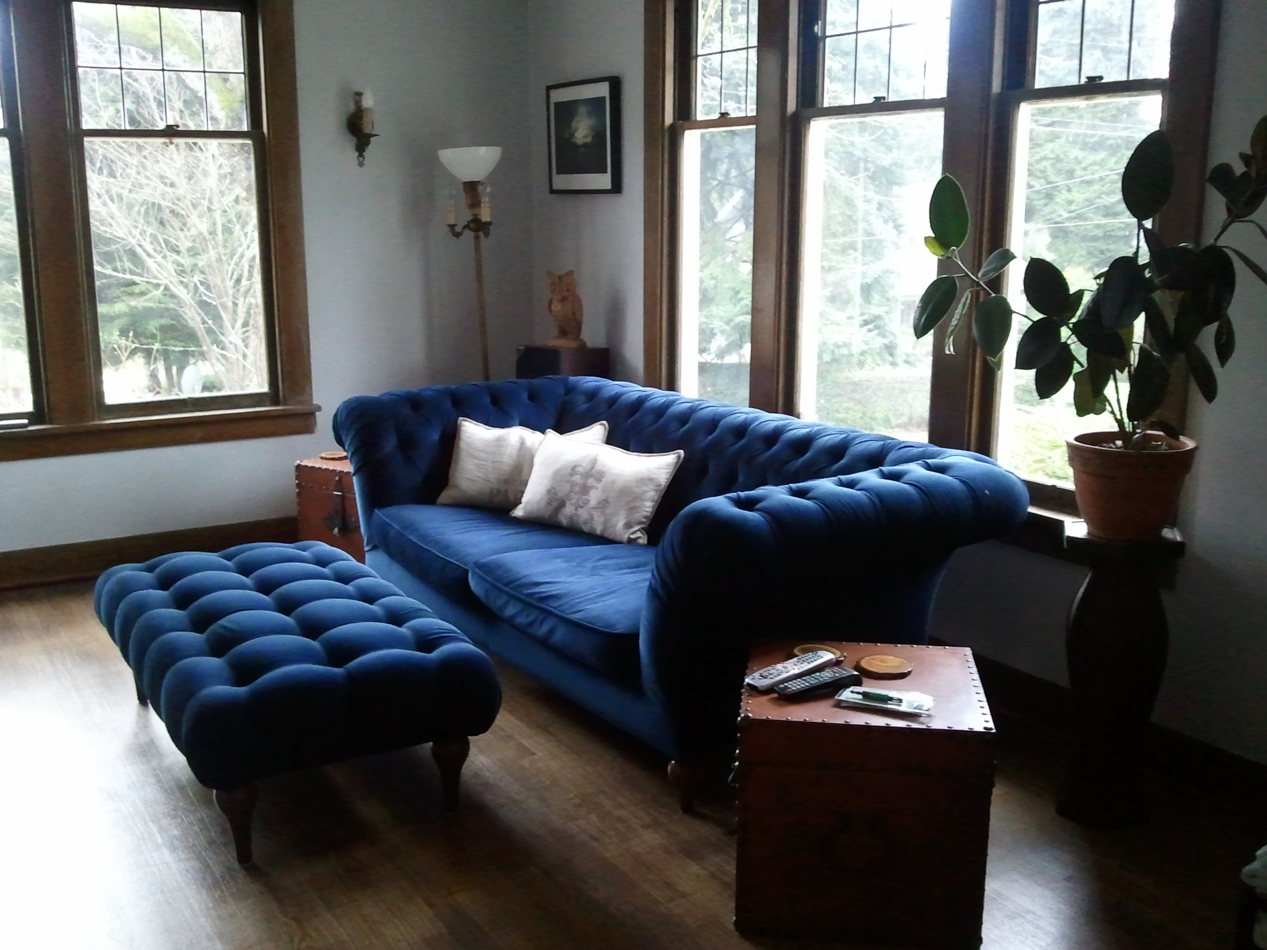 Blue Chesterfield Sofa 1000 Wonderful Things