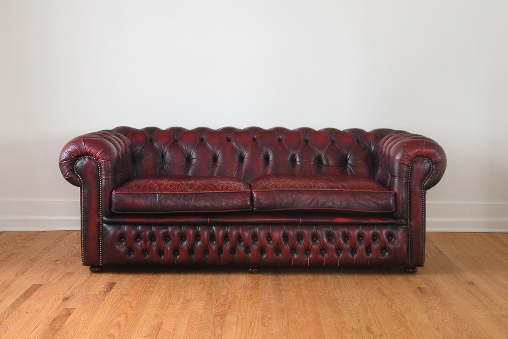 Vintage Finds Chesterfield Sofa 1000 Wonderful Things