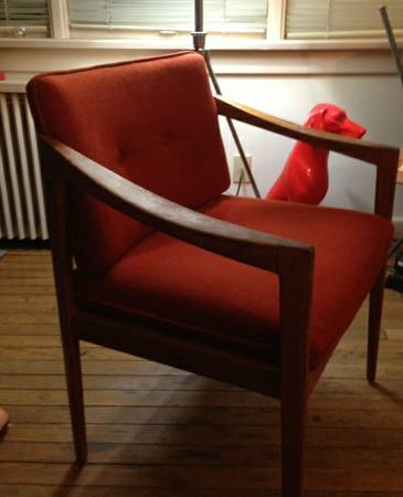 1000 Wonderful Things Craigslist FInds Mid Century Chair